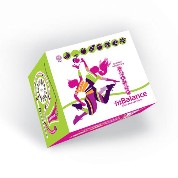 Белковый коктейль FitBalance - клубника